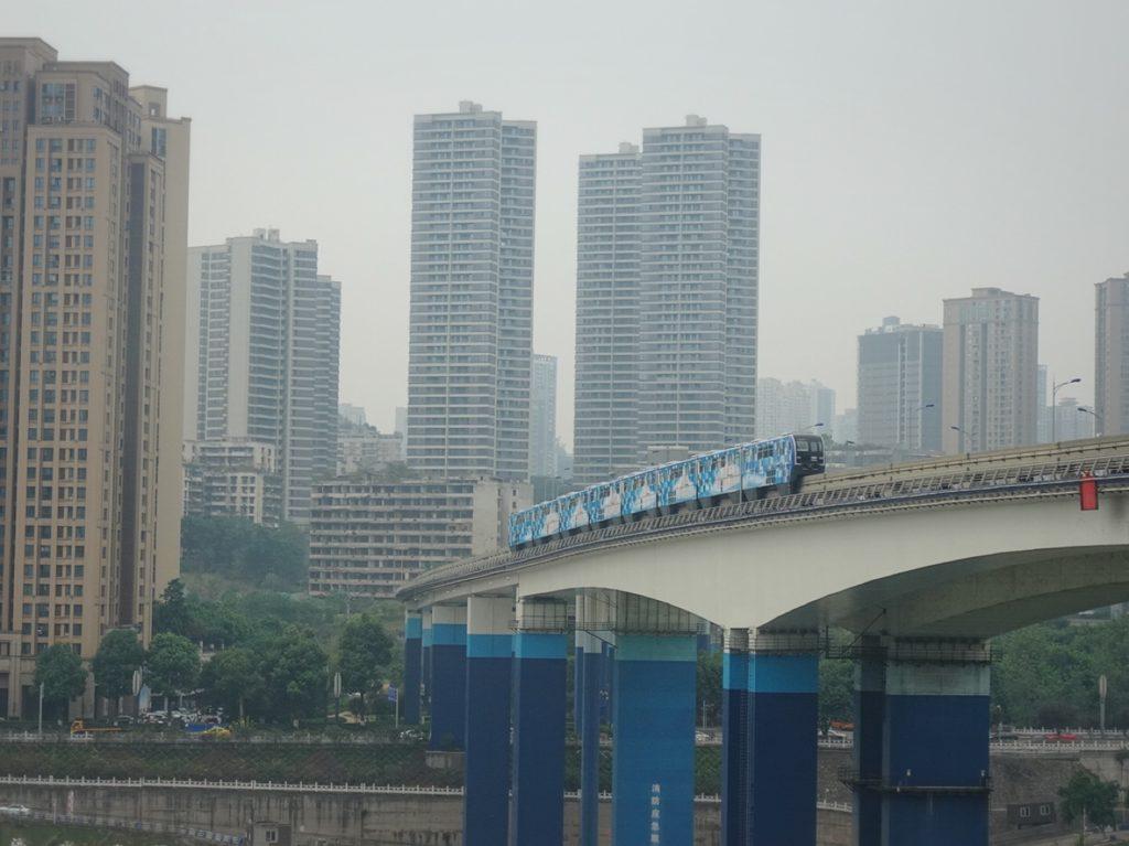 重慶 モノレール