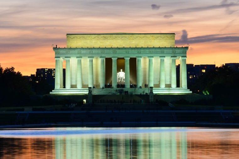 リンカーン記念堂,ワシントン