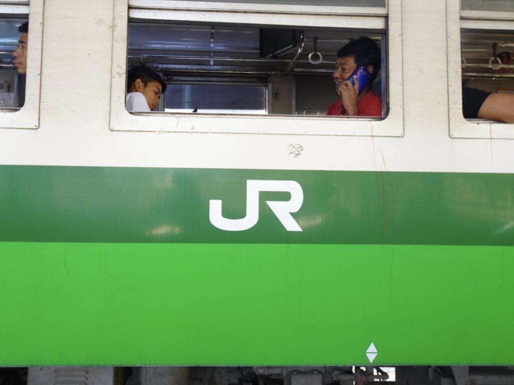 ヤンゴン 環状線 日本製