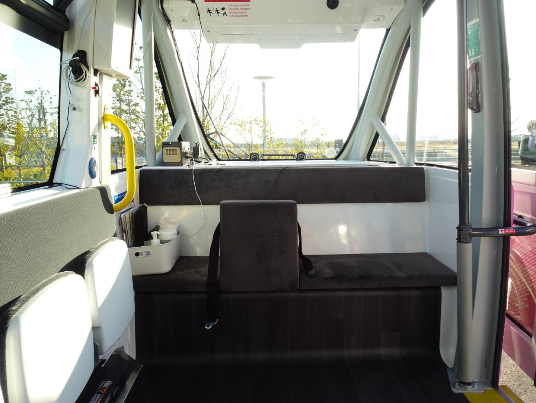 羽田イノベーションシティ 自動運転バス HANEDA INNOVATION CITY